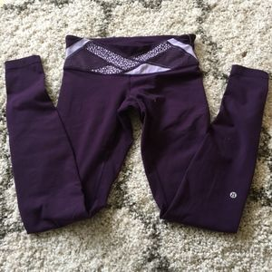 Lululemon// Purple Wunder Unders